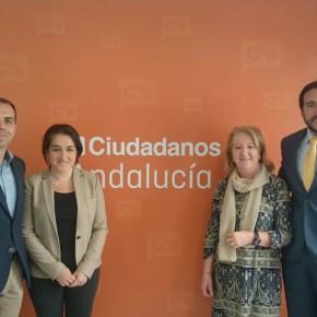 Ciudadanos (C's) Sevilla se reúne con el DCCU en su apuesta por la Sanidad