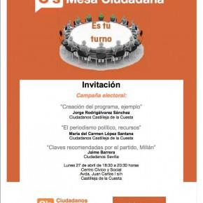 'Mesa Ciudadana' sobre comunicación en campaña electoral
