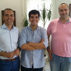 El diputado de Ciudadanos (C's) Javier Millán, trabajando por la provincia de Sevilla
