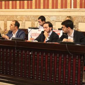 C's en el Pleno del Ayuntamiento de Sevilla (Viernes 25 de septiembre)
