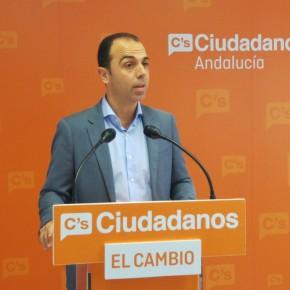 """C's llevará a pleno extraordinario de la Diputación una propuesta """"para reducir gasto y clientelismo político"""" y """"aumentar la democracia"""""""