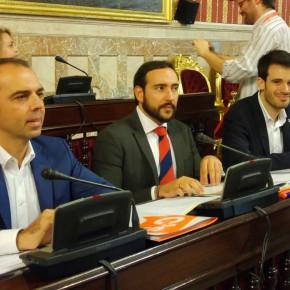 """Millán (C's): """"La vieja política se retrata ante la transparencia y el cambio"""""""