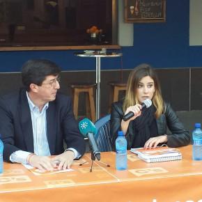 """Juan Marín: """"C´s ha demostrado que se pueden hacer cambios desde la oposición, sin entrar en gobiernos, sin pedir cargos a cambio, y sin enchufar a nadie"""""""