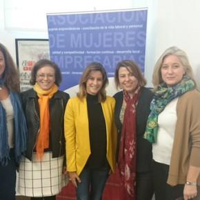 """Virginia M. Salmerón: """"Alcanzar una igualdad real de oportunidades entre hombres y mujeres debe ser fruto del esfuerzo de todos"""""""