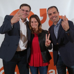 """Millán (C's): """"El apoyo a Ciudadanos ha crecido en Sevilla en más de un 85% con respecto a las municipales"""""""