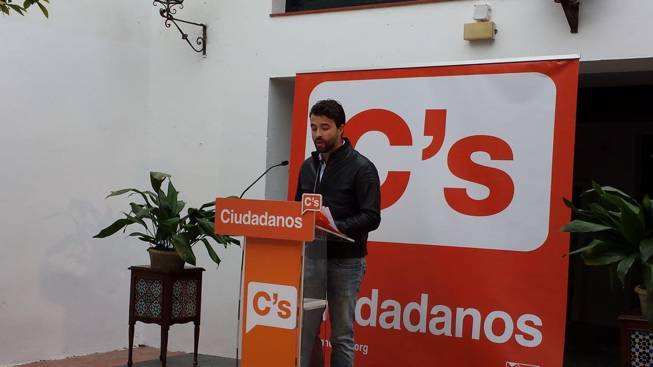 Pablo Cambronero durante su intervención
