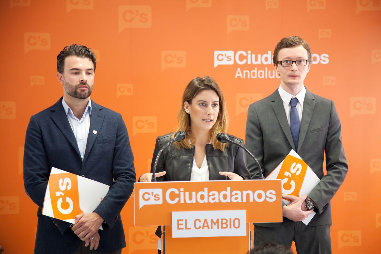 Virginia M. Salmerón candidata al Congreso por Ciudadanos Sevilla