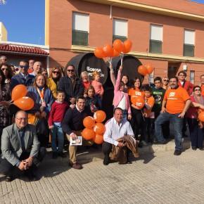 La celebración del Día de la Constitución culmina en Bormujos con la exposición de reformas de Ciudadanos (C's)