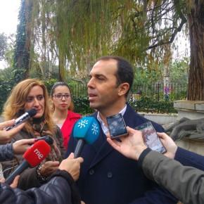 """Millán (C's) quiere que el Parque de María Luisa se convierta en """"el gran escaparate verde que enorgullezca a Sevilla"""""""