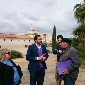 C's pide una solución para los huertos urbanos del Parque de Miraflores