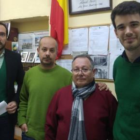 C's visita Tres Barrios y reclama la puesta en marcha definitiva de las obras para reconstruir las viviendas de Los Pajaritos