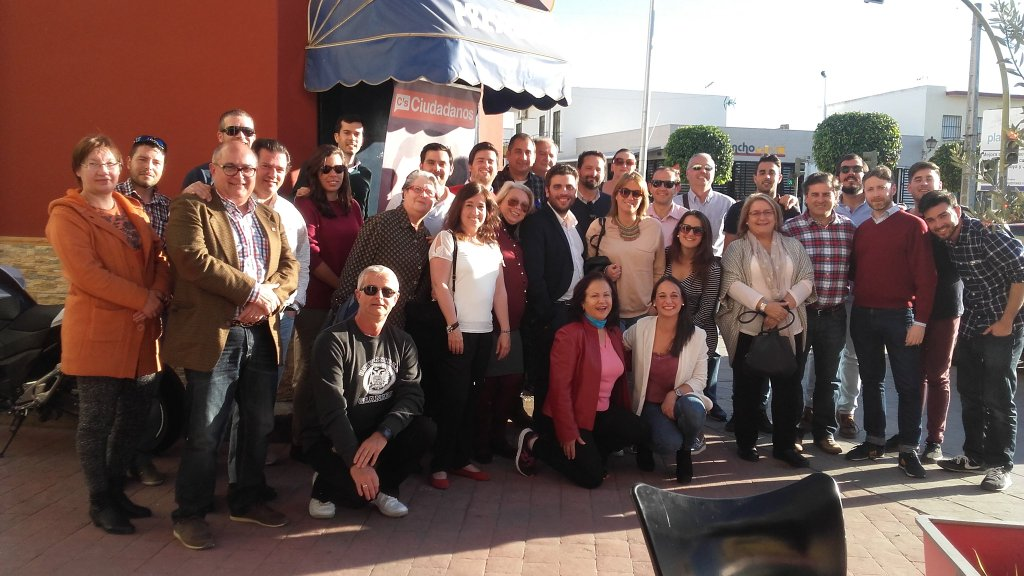 Asistentes al Café Ciudadano Movilidad y Transporte en el Aljarafe2