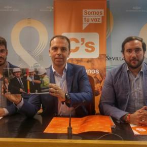 """Millán (C's) considera que """"lo ridículo, absurdo y preocupante es que el gobierno del PSOE responda con falsos argumentos"""" en el caso Carretero"""