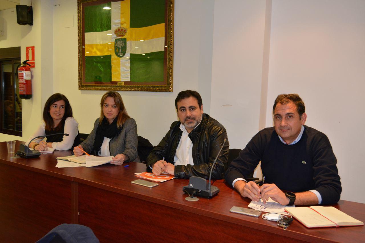 Concejales del grupo municipal de C´s Bormujos