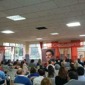 Ciudadanos presenta su grupo local con éxito de asistentes en San Juan de Aznalfarache