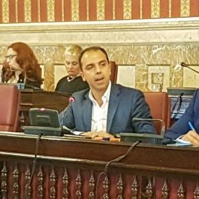 """Millán recuerda a Zoido que """"Ciudadanos es el único que está trabajando de verdad para que los impuestos bajen en Sevilla"""""""