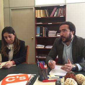 """Moraga (C's) pide """"dinamizar el CREA y apoyar a los jóvenes empresarios"""""""