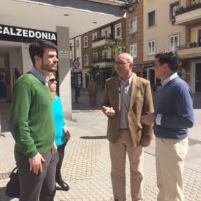 """Ciudadanos apuesta por la instalación de toldos en la calle Asunción """"facilitando el ocio y el comercio en épocas de calor"""""""