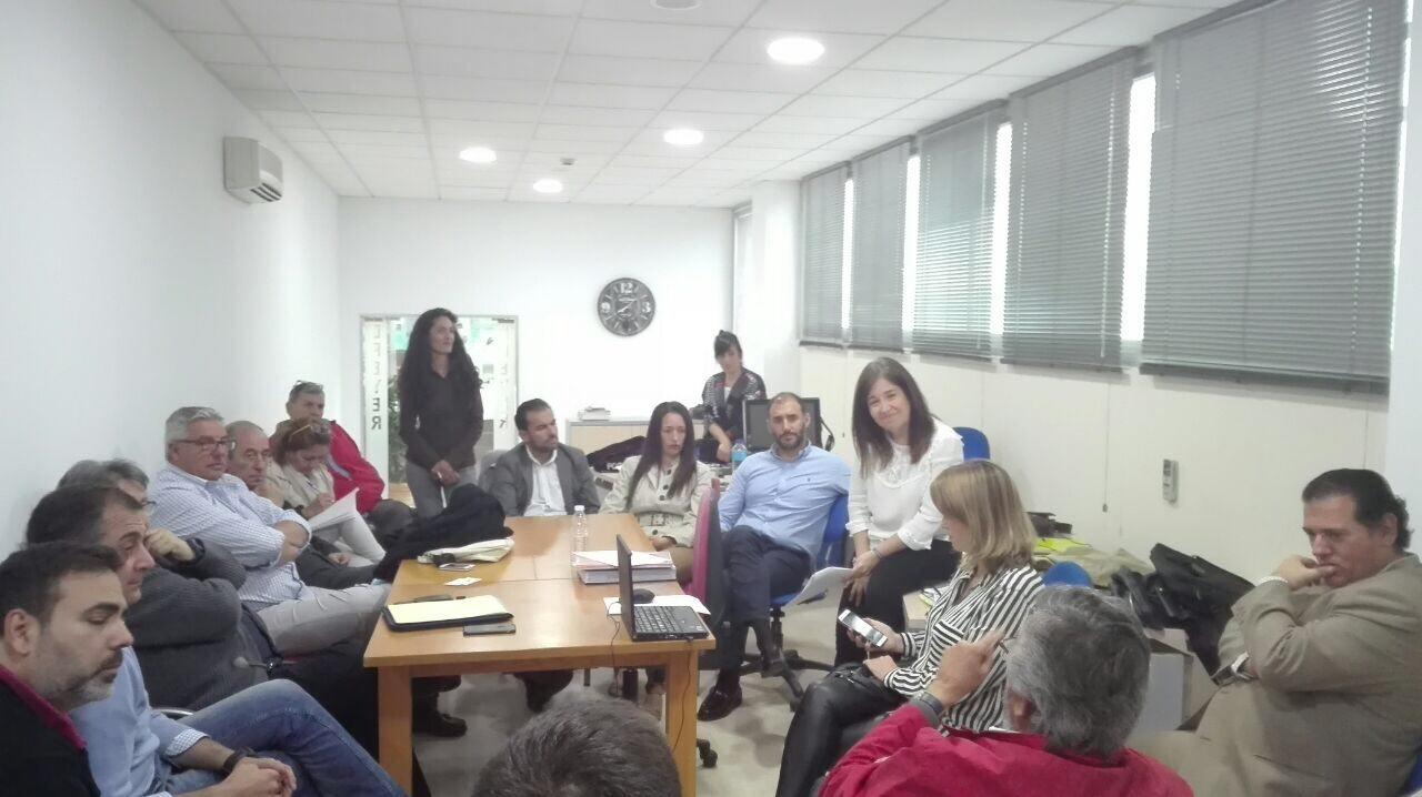 Reunión de empresarios con los concejales de C´s Bormujos