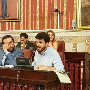 Moyano defiende la creación de un plan de actuación para el barrio de Santa Clara (Vídeos)