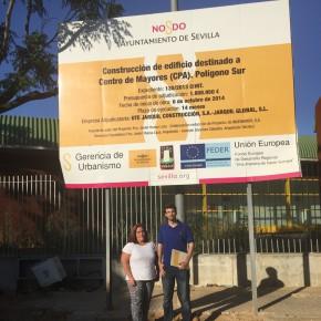 C's urge a la reactivación de las obras para la apertura del Centro de Mayores del Polígono Sur