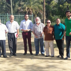 Ciudadanos pide mantenimiento y servicios básicos como fuentes y aseos para el parque Amate