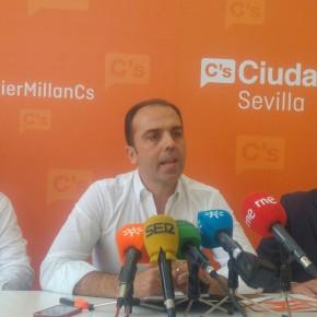 Millán (C's) considera nulo e impugna el nombramiento de Blas Ballesteros como gerente del Consorcio de Aguas por incumplir los requisitos