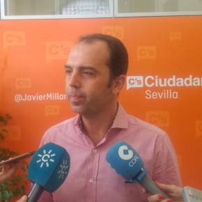 """Ciudadanos reclama a la Diputación """"voluntad e implicación"""" para reabrir la Residencia de Mayores de Cazalla"""