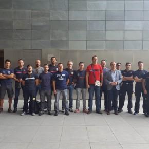 Ciudadanos consigue que la Diputación apueste por más efectivos funcionarios en el Consorcio de Bomberos