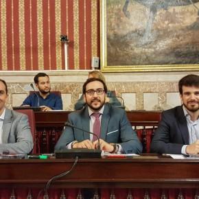 """Millán (C's): """"Queda patente que Ciudadanos es la única oposición real a las subidas de impuestos en Sevilla"""""""