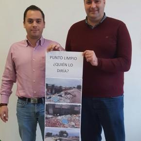 Ciudadanos Camas denuncia el estado de abandono y la suspensión del servicio del Punto Limpio de Camas