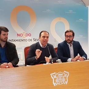 """Millán (Cs) urge a Espadas a """"tener un presupuesto cuanto antes"""" y le pide """"valentía para apostar por Sevilla"""""""
