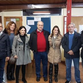 """Virginia Salmerón apoya al grupo de Ciudadanos de San Juan de Aznalfarache y aplaude su """"buen trabajo"""""""