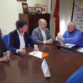 """Ciudadanos se reúne con FENACO para """"recoger todas las inquietudes y propuestas del pequeño y mediano comercio"""""""