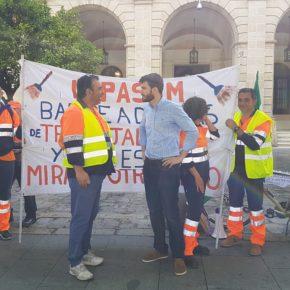 """Ciudadanos pide al alcalde que """"medie para dar solución a los 60 eventuales en conflicto con Lipasam"""""""