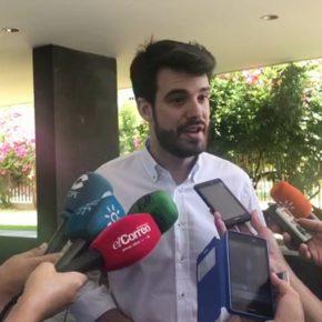 """Moyano pide desbrozar los arriates y jardines de Sevilla Este """"para evitar incendios y focos de infección"""""""