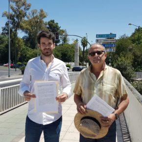 Moyano pedirá en Pleno instalar estructuras que den sombra a los puentes urbanos de Sevilla