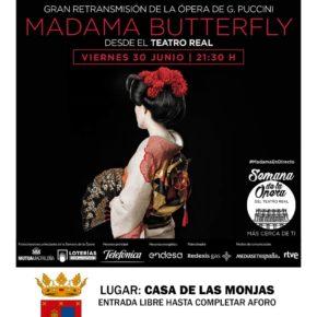 """Transmisión en directo, desde el Teatro Real, de la ópera """"Madama Butterfly"""" en Espartinas"""