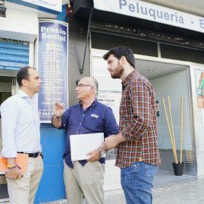 """Millán pide en San Pablo """"agilizar licencias y garantizar la seguridad en las calles"""" para apoyar a los comerciantes"""
