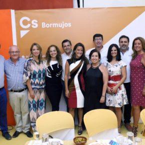 Dirigentes de Ciudadanos en Andalucía y la provincia acompañan al Grupo Municipal en la Feria de Bormujos