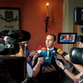 """Millán: """"La bajada de impuestos en Sevilla lleva el sello de Ciudadanos"""""""