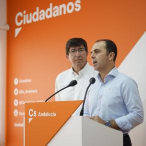 """Millán: """"La bajada de impuestos y la innovación en Sevilla llevan el sello de Ciudadanos"""""""