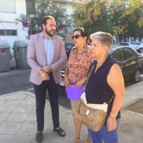 """Moraga (Cs) evidencia """"la degradación del entorno de la calle Arjona y de la estación de Plaza de Armas"""""""
