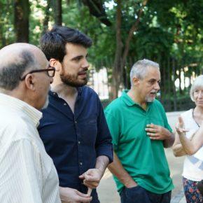 """Moyano reafirma """"la apuesta de Ciudadanos por el Parque de María Luisa"""" y destaca """"la poda integral y nuevas rehabilitaciones"""""""