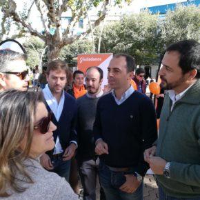 Cs arranca en Casco Antiguo sus 'Encuentros Ciudadanos con Javier Millán' por toda Sevilla