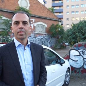 Millán lleva a Pleno la creación de un parking rotatorio y para residentes en el solar de la calle Campamento