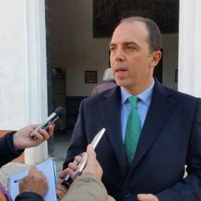 """Millán (Cs) llama a la """"responsabilidad"""" al PP y se ofrece a mediar """"para que se sumen a un muy buen acuerdo para Sevilla"""""""