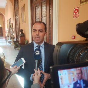 """Millán (Cs) reclama al alcalde """"valentía para garantizar que cualquier taxista pueda prestar servicio en el aeropuerto de Sevilla"""""""