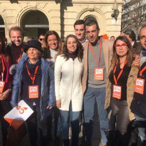 Afiliados de Ciudadanos (Cs) Sevilla participan este 21D como apoderados en las elecciones catalanas