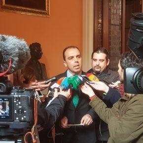 """Millán afirma que """"la ciudad merece un gran acuerdo a tres"""" y reclama al PP que """"sea responsable y piense en Sevilla"""""""